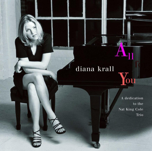 DIANA KRALL-ALL FOR YOU- Double Vinyl LP-Brand New-Still Sealed