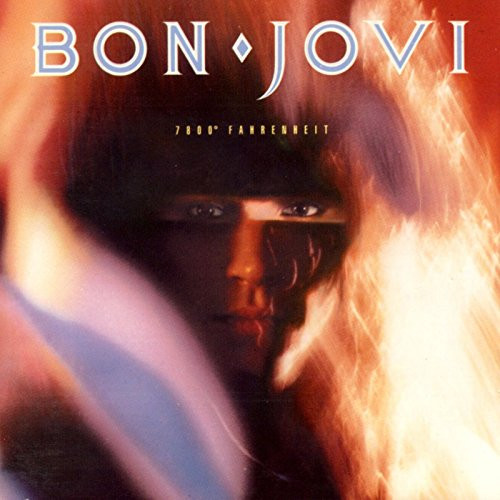 BON JOVI-7800 DEGREES FAHRENHEIT- Vinyl LP-Brand New-Still Sealed