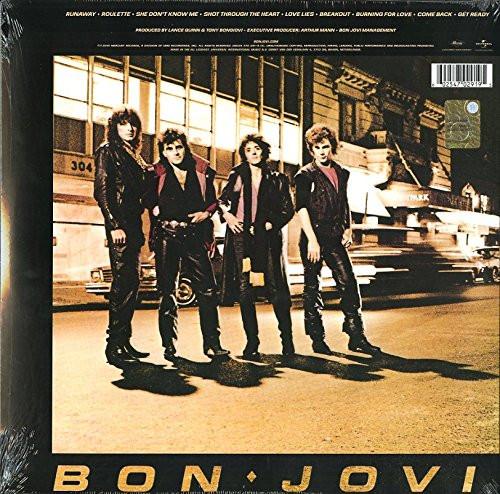 BON JOVI-BON JOVI- Vinyl LP-Brand New-Still Sealed