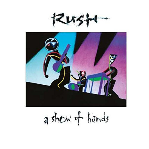 RUSH-A SHOW OF HANDS - Double Vinyl LP-Brand New-Still Sealed
