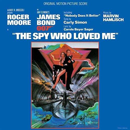 OST - JAMES BOND - SPY WHO LOVED ME - Vinyl LP-Brand New-Still Sealed