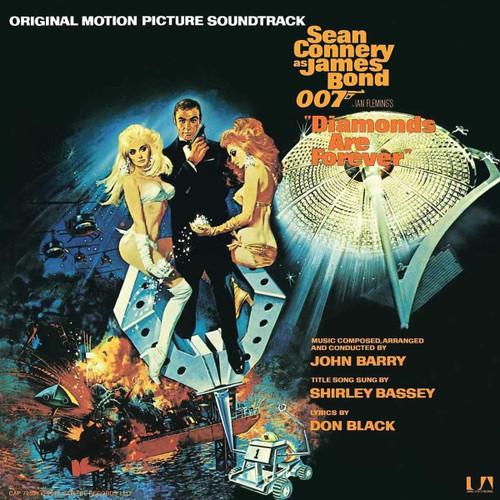 OST - JAMES BOND - DIAMONDS ARE FOREVER - Vinyl LP-Brand New-Still Sealed