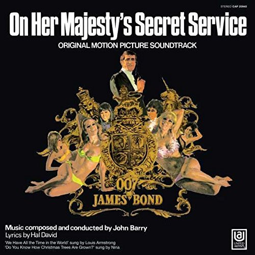 OST - JAMES BOND - ON HER MAJESTY'S SECRET SERVICE - Vinyl LP-Brand New-Still Sealed