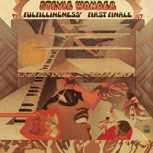 STEVIE WONDER-FULFILLINGNESS' FIRST FINALE- Vinyl LP-Brand New-Still Sealed