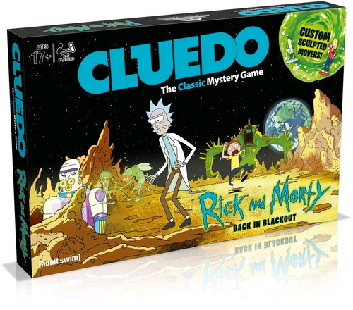 Cludeo - Rick and Morty Edition-WIN003210