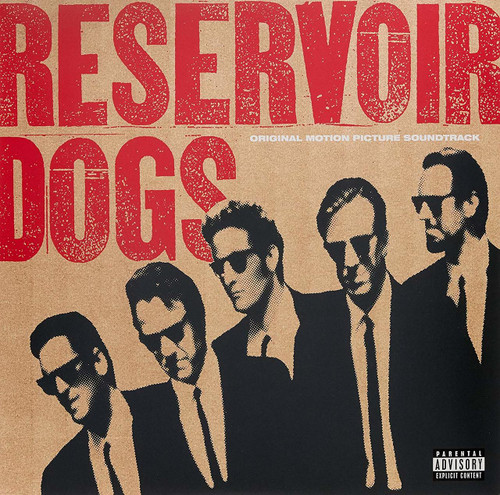 Soundtrack-OST-RESERVOIR DOGS-Coloured VINYL LP-Brand New-Still Sealed
