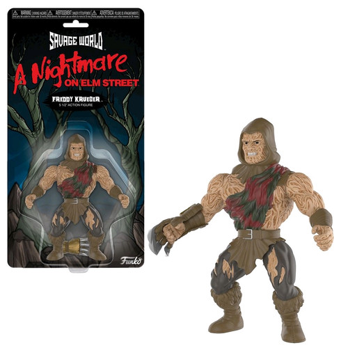 A Nightmare on Elm Street - Freddy Krueger Savage World Figure-FUN30346