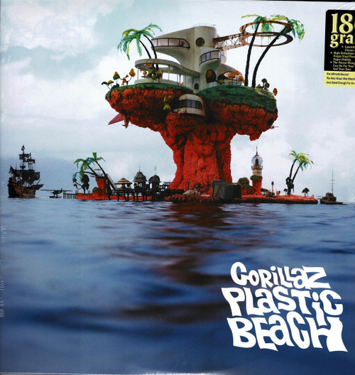 GORILLAZ-Plastic Beach (2 LP's 180 gram) Vinyl LP-Brand New-Still Sealed