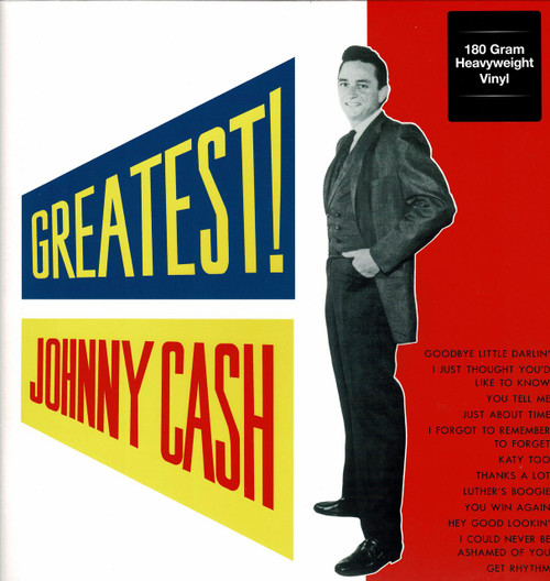 JOHNNY CASH-Greatest! (180 gram) Vinyl LP-Brand New-Still Sealed