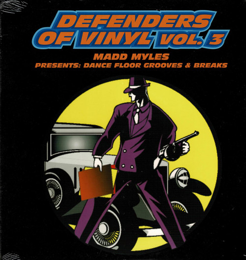 DEFENDERS OF VINYL Vol. 3-Madd Myles Presents: Dance Floor Grooves & Breaks Vinyl LP-Brand New-Still Sealed