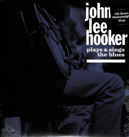 JOHN LEE HOOKER-Plays And Sings The Blues (180 Gram) Vinyl LP-Brand New-Still Sealed