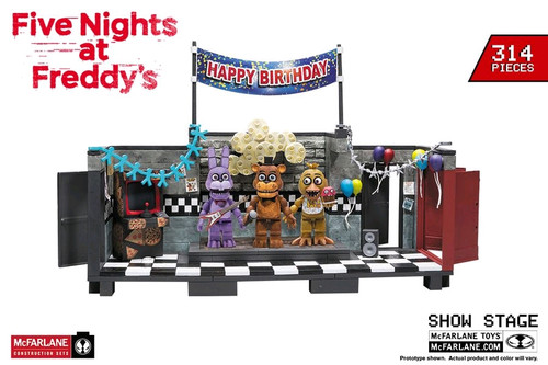 Five Nights at Freddy's - The Show Stage Large Construction Set-MCF25016