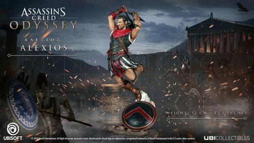 Assassin's Creed: Odyssey - Alexios Vinyl Statue-UBI300099727