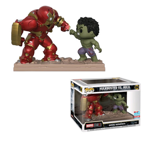Avengers 2: Age of Ultron - Hulk vs Hulkbuster Movie Moments NYCC 2018 Exclusive Pop! Vinyl [RS]-FUN31269