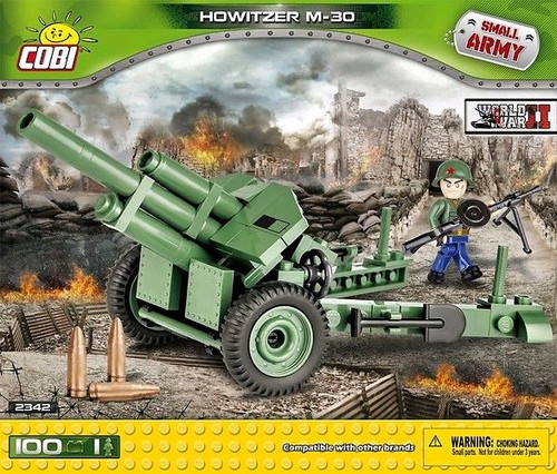 Small Army - 100 piece Howitzer M-30-COB2342