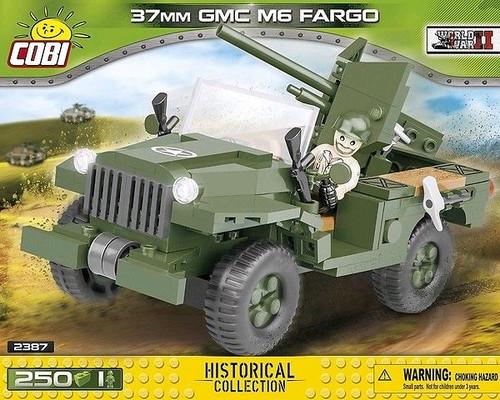 World War II - 250 Piece 37mm GMC M6 Fargo-COB2387