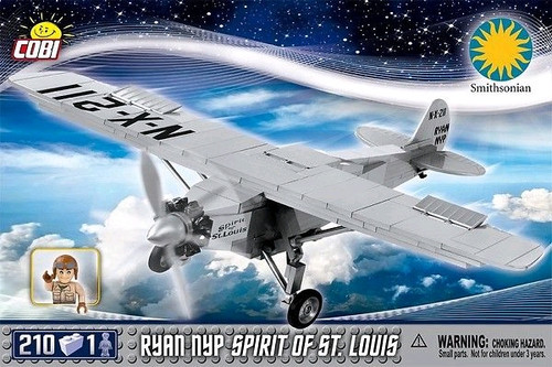 Smithsonian - 210 piece Ryan NYP Spirit St Louis-COB21074