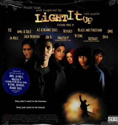 LIGHT IT UP-Original Soundtrack-Beanie Siegel/Amil/AZ/112 Vinyl LP-Brand New-Still Sealed