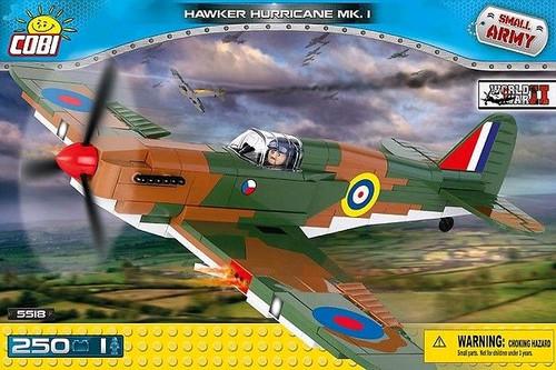 Small Army - 250 piece Hawker Hurricane Mk.I-COB5518