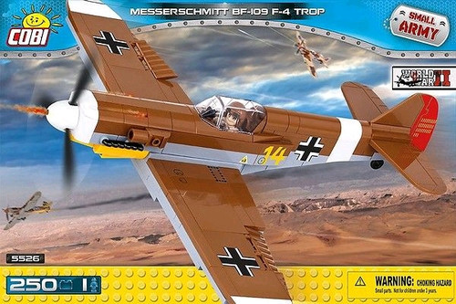 Small Army - 250 piece Messerschmitt BF-109 F-4 Trop-COB5526