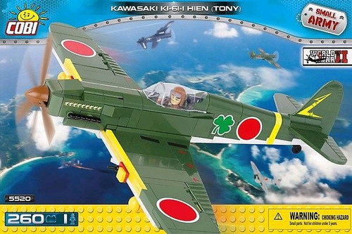 Small Army - 260 piece Kawasaki KI-61-I Hien Tony-COB5520