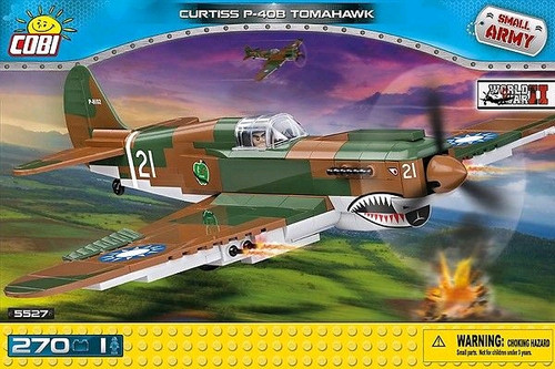 Small Army - 270 piece Curtiss P-40 Tomahawk-COB5527