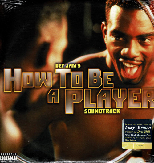 HOW TO BE A PLAYER - Soundtrack-Foxy Brown / Dru Hill / DMX / Redman / 2Pac / Master P (2 LP's) Vinyl LP-Brand New-Still Sealed