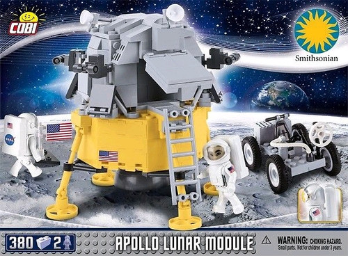 Smithsonian - 380 piece Apollo Lunar Module-COB21075