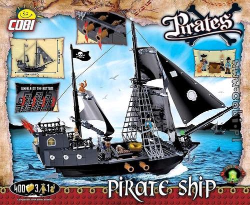 Pirates - 400 piece Pirate Ship-COB6016