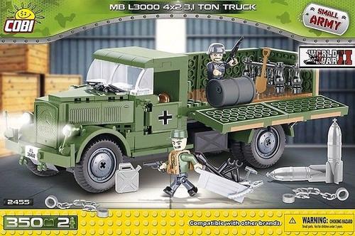 Small Army - 350 piece Mercedes Benz L3000 4x2 3.1 Ton Truck-COB2455