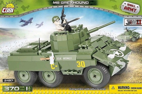 Small Army - 370 piece M8 Greyhound-COB2497
