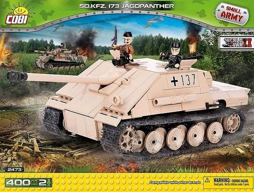 Small Army - 400 piece Sd.Kfz 173 Jagdpanther-COB2473
