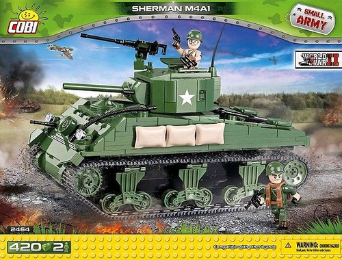 Small Army - 400 piece Sherman M4A1-COB2464
