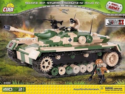 Small Army - 410 piece Sd.Kfz.167 Sturmgeschutz IV (Stug IV)-COB2482