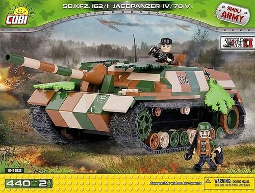 Small Army - 440 piece Sd.Kfz.162/1 Jagdapanzer IV L/70-COB2483