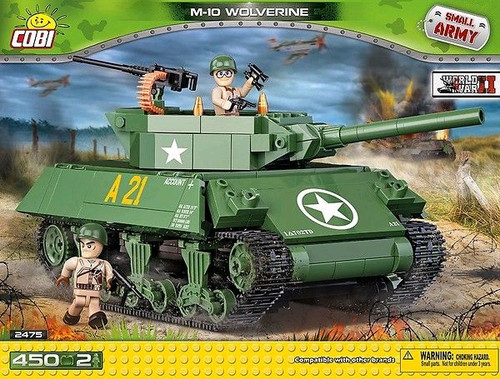 Small Army - 450 piece M-10 Wolverine (450 pcs)-COB2475