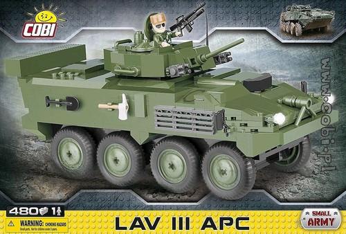 Small Army - 480 piece LAV III APC-Light-COB2609
