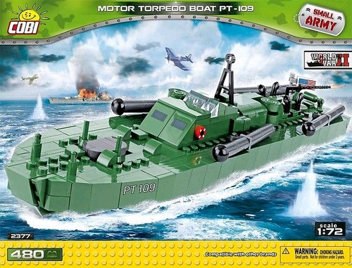 Small Army - 480 piece Motor Torpedo Boat PT-109-COB2377