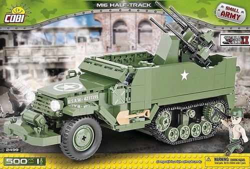 Small Army - 500 piece M16 Half-Track-COB2499