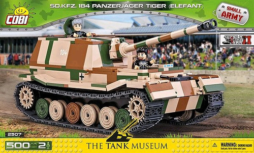 Small Army - 500 piece Sd.Kfz.184 Panzerjager Tiger (Elefant)-COB2507
