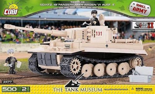 Small Army - 500 piece Tiger 131 Sd.Kfz 181 Panzerkampfwagen VI Ausf.E-COB2477