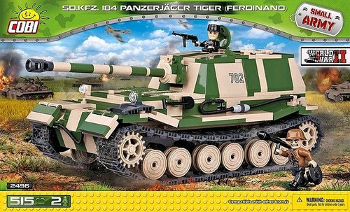 Small Army - 515 piece Sd.Kfz.184 Panzerjager Tiger (Ferdinand)-COB2496