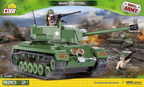 Small Army - 520 piece M46 Patton-COB2488
