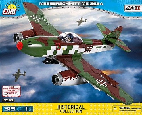 World War II - 315 piece Messerschmitt ME 262A-COB5543