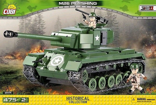 World War II - 475 piece M26 Pershing-COB2471
