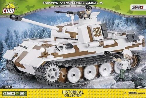 World War II - 490 piece PzKpfw V Panther Ausf.D-COB2511