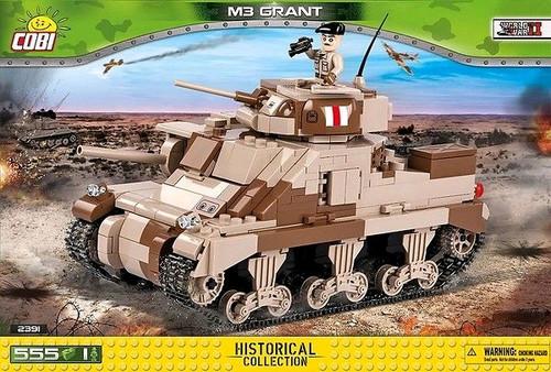 World War II - 550 piece M3 Grant Medium Tank-COB2391