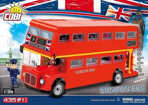 Action Town - 435 Piece London Bus-COB1885