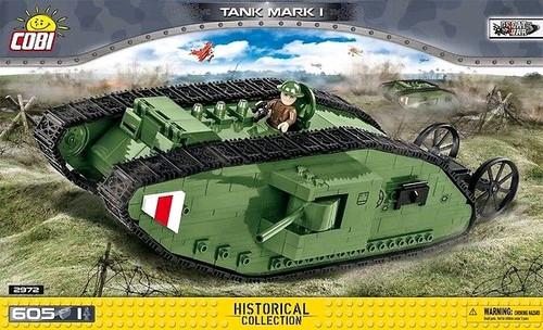 Great War - 600 piece Tank Mk1-COB2972
