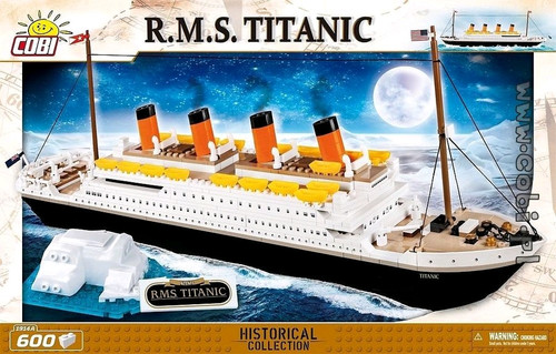 Historical Collection - 600 piece R.M.S. Titanic-COB1914A